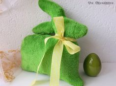 Easter Green Rabbit Pillow / easter pillow/ easter by YaGrashka Green Rabbit, Easter Pillows, Soft Pillows, Reusable Tote Bags, Shapes, Unique Jewelry, Handmade Gifts, Etsy, Decor