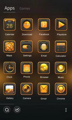 Power GO Launcher Theme- screenshot