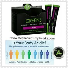 Create a healthy environment in your body!