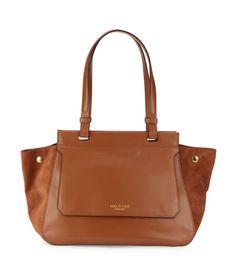 Halston Heritage | Zipped Leather Handbag | SAKS OFF 5th