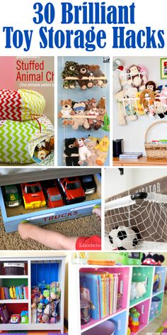 When you have kids, the toys tend to take over the entire house. Today I'm sharing 30 amazing toy storage ideas to get you inspired to...