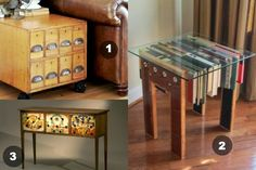 The Art Of Up-Cycling: Upcycled Table - Cool Ideas To Create Amaz Upcycled Tables