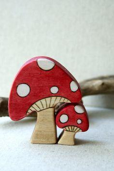Mama Mushroom. $17.00, via Etsy.