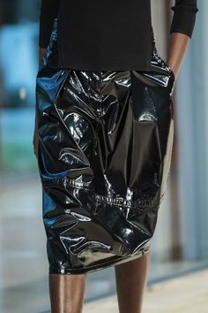 Tibi at New York Fashion Week Spring 2020 - Details Runway Photos New York Fashion, Leather Skirt, Ready To Wear, Runway, Magazine, Spring, Skirts, Photos, How To Wear