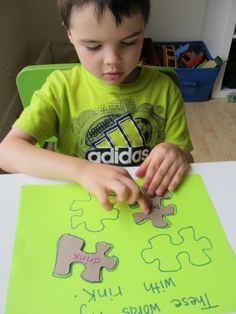Does the word fit rhyming activity for kids
