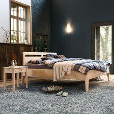 Massivholzbetten von Ahorn bis Zirbe Bed Storage, Bedroom, Design, Furniture, Home Decor, Sleep Better, Simple Elegance, Deco, Decoration Home