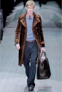 love this coat. gucci fall 11 mens