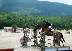 Vermont horse show in Southern Vermont
