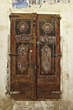 Doors at Thula, Yemen
