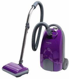 #Panasonic   MC-CG901 Canister Vacuum Cleaner, Orchid finish $229.00