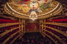 Opera Day is February Let The Day Be Your Inspiration. One Day In Paris, Paris Opera House, National Days, Opus, Westminster Abbey, Best Cities, Beautiful Interiors, Paris France, Phantom Of The Opera