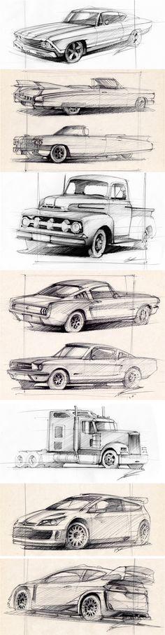 New Cars Design Sketch Behance Ideas Car Drawing Pencil, Pencil Drawings, Drawing Art, Drawing Tips, Car Design Sketch, Car Sketch, Design Cars, Car Drawings, Art Drawings For Kids