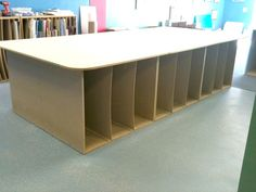 Retail Sales Counter and Mat Board Holder for Gallery Frame Shop ...