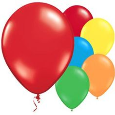 Multi-coloured Balloons - Metallic Latex - Plain Balloons (Pack of Pack contains: 10 x metallic latex balloons in assorted colours. Suitable for air or helium inflation, please see our range of disposable canisters.