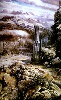 A tribute to Alan Lee, best known as the illustrator of J. Tolkien's The Hobbit and The Lord of the Rings. Alan Lee, Gandalf, Legolas, Fantasy World, Fantasy Art, Fantasy Images, Das Silmarillion, O Hobbit, Hobbit Art