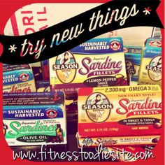 Open your mind to Sardines - They store lots of Omega-3's, protein and minerals! Boost your metabolism and lose weight with Season Sardines from seasonproducts.com!