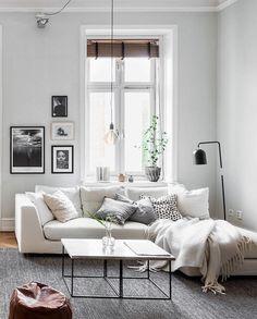 Sofá blanco Sala de estar