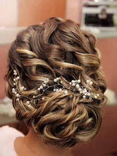 Swarovski Crystal & Pearl Wedding Proms Bridal Hair Vine Headband Tiara