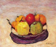 Pierre Bonnard (1867-1947) Assiette de fruits ou Les pommes