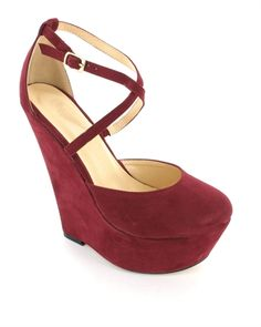 Parmars Eva wedges are simple and stylish for SS13 and are available in multiple colours.