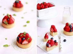 Tarte Aux Fruits Rouges, or red fruit tart is a simple summer berry tart