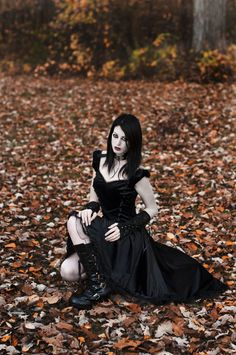 Goth Girl Stock 01 by MeetMeAtTheLake2Nite on deviantART