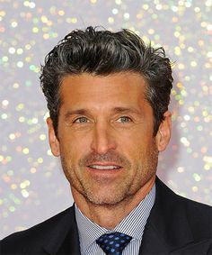 View yourself with this Patrick Dempsey Short Wavy Black Hairstyle Dread Braids, Mens Braids, Derek Shepherd, Patrick Dempsey Hair, Patrick Demsey, Braids With Fade, Twist Cornrows, Small Braids, Short Wavy Hair