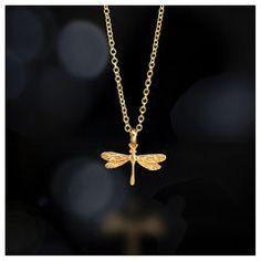 free spirit dragonfly necklace, 18k gold #dogeared #sharethehappy