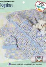 Naptime Crocheted Baby Set LW1313 | Free Patterns | Yarn
