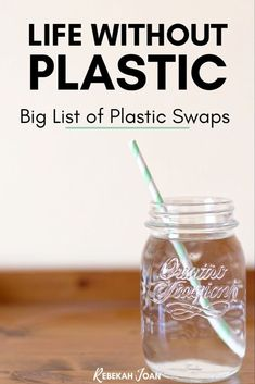 Mega List of Easy Plastic Swaps for an Eco-Friendly Life + Home- Click through for my favorite plastic swaps for an eco friendly life! Easy plastic swaps, easy plastic free swaps, single use plastic swaps, eco friendly living, eco friendly products. Plastic Food Packaging, Organize Life, Plastic Waste, Eco Friendly House, Natural Living, Natural Life, Green Life, Sustainable Living, Biodegradable Products