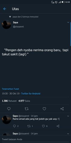 Funny Tweets, Funny Quotes, Quotes Galau, Self Reminder, Self Healing, Twitter Quotes, Quote Aesthetic, That's Love, Mood Quotes