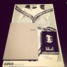 Adquiere Velvet, la primera novela de Ashauri López en Ediciones Acapulco. Acá una guía rápida http://ashauri.tumblr.com/post/29390919966/como-adquirir-velvet