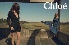 Camille Bidault-Waddington styles for Chloe Spring/Summer 2014