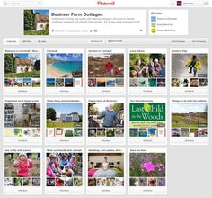 Bosinver Farm Cottages - Using Pinterest for Business