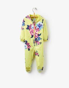 Splish Lime Floral Puddle Suit | Joules US
