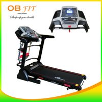 Electric Treadmill Multifungsi w/ Spring Shock Abs by OB FIT Electric Treadmill, Gym Equipment, Abs, Spring, Fitness, Crunches, Abdominal Muscles, Workout Equipment, Killer Abs