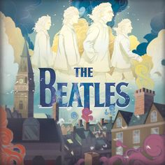 The Beatles Album Cover by Kevin Blasius, via Behance