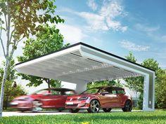 Design Solarcarport © Carport Solarterrassen & Carportwerk GmbH