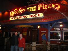 Woody's pizza.  Triv