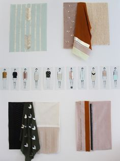 Anna Duthie via all the mountains, a young textile designer based in Glasgow.