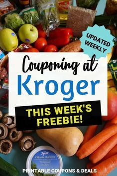 Find out what's free this week at Kroger! Kroger Free Friday Download 2019 #freebie #kroger Digital Coupons, Printable Coupons, Printables, Store Coupons, Kroger Coupons, Types Of Cereal, Free Friday, Coffee Shot, Store Hacks