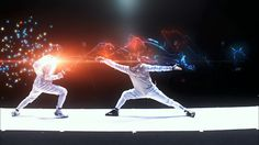 "Sports Biz ""Fencing Visualized"", From Dentsu / Tokyo, @DentsuPR"