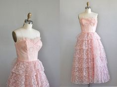 vintage 1950s Young Love  dress