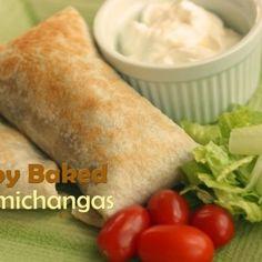 Crispy Baked Chimichangas Recipe