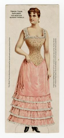 75.2362: Fashion Figure | paper doll | Paper Dolls | Dolls | National Museum of Play Online Collections | The Strong