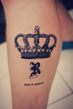 20 Brilliant Crown Tattoos You'll Need to See | InkDoneRight  At first glance…