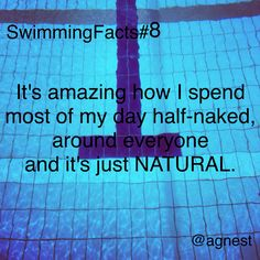 Swimming quotes funny facts