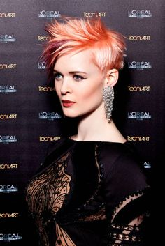 Pixie Style by Michal Zelenka #pixie #short #tecniart #styling #hair #lorealprofessionnel #lorealpro