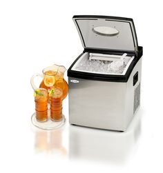 "Mr. Freeze 12.75"" W Portable Clear Ice Maker"