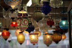 Hanging Indian Lamps